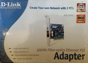 Network-Card-D-Link-Dfe-550FX-Fiber-Optic-10-100mbps-PCI