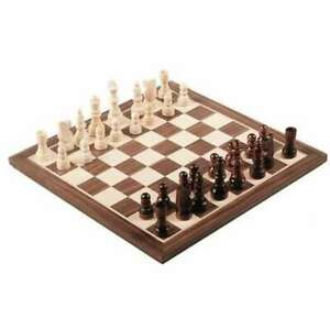 Jeu-echecs-30-cm-Prestige-jeu-bois-chess-plateau-checker-echiquier-echequier