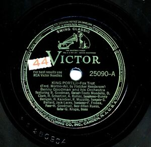BENNY-GOODMAN-and-his-Orchestra-on-Victor-25090-King-Porter-Stomp