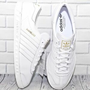 super popular 2892f 51ba0 adidas hamburg white
