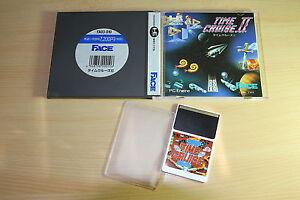 TIME-CRUISE-II-NEC-PC-Engine-Hucard-import-JAP-cib