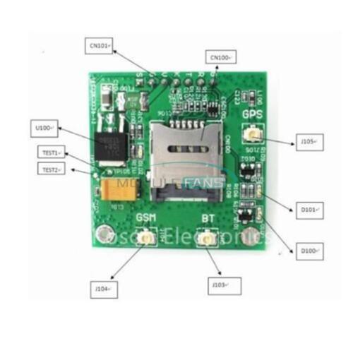 SIM808 Wireless Board GPS GSM GPRS Bluetooth Module Replace SIM908 MF