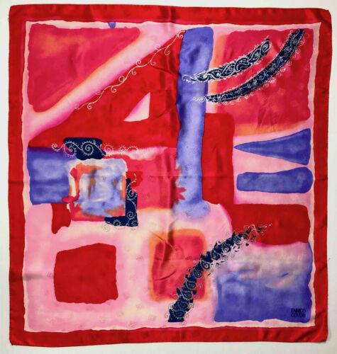 Enrico Coveri Foulard Silk Big Optical Silk Big Sc