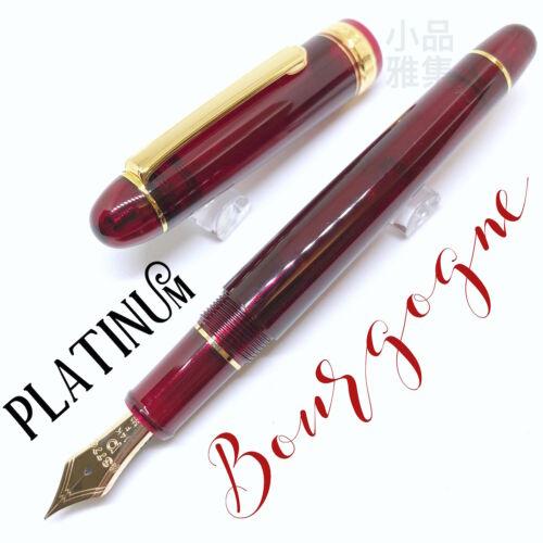 Platinum 3776 Century Bourgogne Red 14K nib Fountain Pen