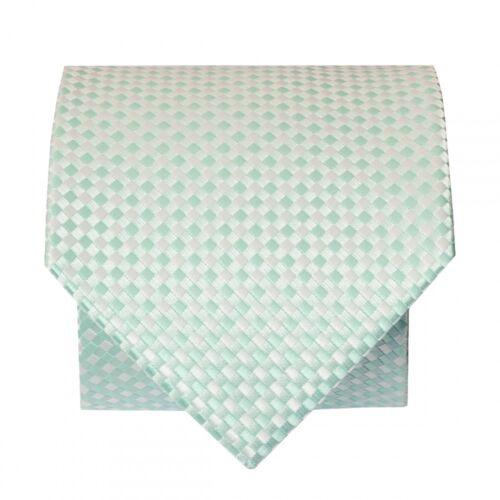 Vert Menthe Diamond Neat Classique Homme Cravate Regular Cravate Normal Cravate Cravate
