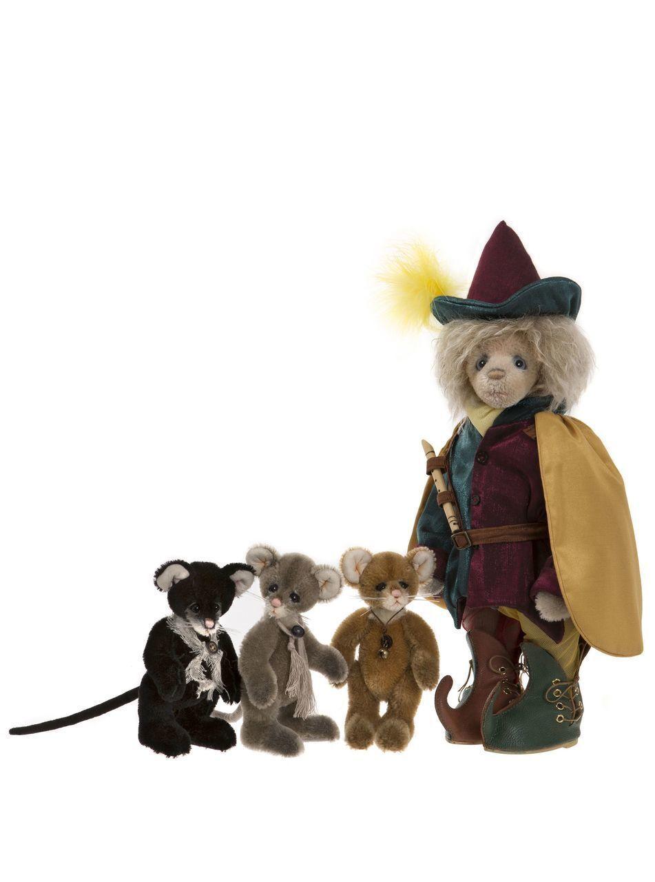 Charlie Bears Pied Piper-sj586061-MOHAIR  pifferaio magico V. Hameln  175 St. weltw
