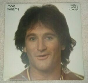 Robin-Williams-Reality-What-A-Concept-Vinyl-LP-1979-EX-EX-NBLP-7162