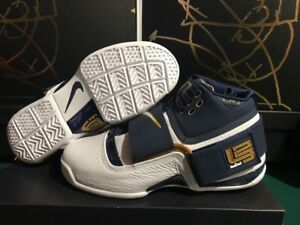 low priced 2288f 7c225 Details about Nike LeBron Zoom Soldier 1 25 Straight AO2088-400 Midnight  Navy CT 16 Sz 9