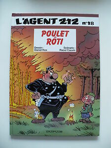 EO-neuf-Agent-212-tome-18-Poulet-roti-Kox-Cauvin