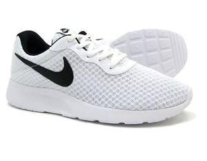 40b847abbf9 Nike Tanjun Men s Running Casual Shoes White Black 812654 101 Fast ...