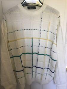 de diseño mezcla único de color de textura Suéter fino algodón de Galilei italiano S7WxzwIqpv