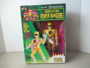 Mighty-Morphin-Power-Rangers-1994-KARATE-action-Trini-Figure-New-in-Box