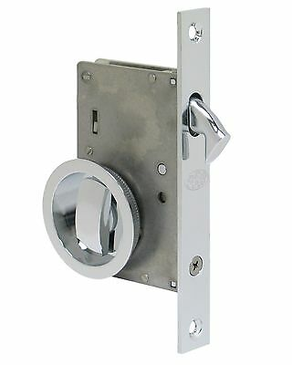 FPL Manor Privacy Pocket Door Mortise Lock Hardware Kit Multiple Finishes