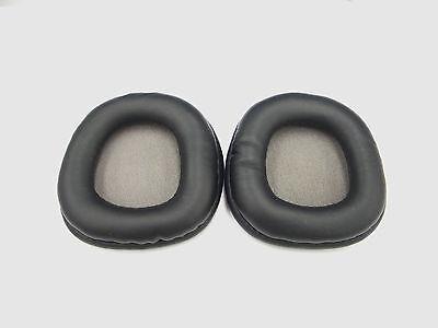 2 pcs Spare ROUND Leatherette Ear Cushion for Plantronics Audio 655 /& audio 995