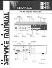 Kenwood Original Service Manual für KR-910 /L