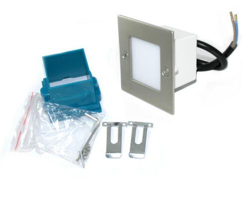 Feuchtraum HV 230V LED Einbaustrahler Royal 1,5 W Innen /& Aussen IP54 Nass.