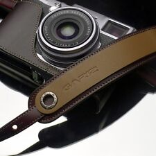 Gariz Brown Leather Neck Strap XS-CHLSNBR Sony NEX Olympus EM5 Lumix Leica