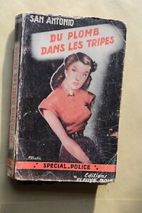 Rare-EO-DARD-SAN-ANTONIO-Special-Police-35-Du-plomb-dans-les-tripes