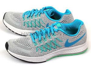 more photos d628c 2ee7f Image is loading Nike-Zoom-Pegasus-32-GS-Kids-Running-Pure-