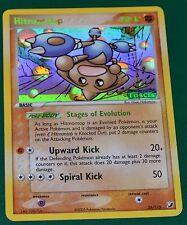 Holo Foil Hitmontop 26/115 Gold Lettering EX Unseen Forces Set Pokemon Card MINT