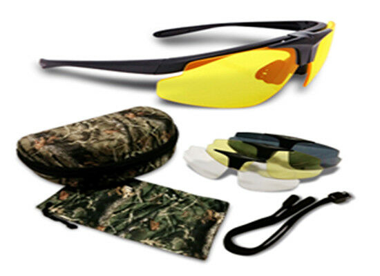 Shilba Hunter Glasses - 4 Lenses