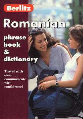 Romanian Phrase Book (Berlitz Phrasebooks), , Very Good Book