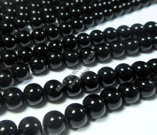 95 Onyx Noir Perles 10 mm poli semi boules Gemme À faire soi-même g609#3