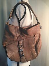 L.A.M.B Handbag By Gwen Stefani Purse Hobo Pre-Owned Medium Size