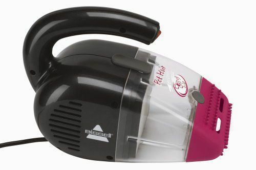 Handheld Corded Vacuum Cleaner w  16-ft Power Cord, Specialized Rubber Nozzle