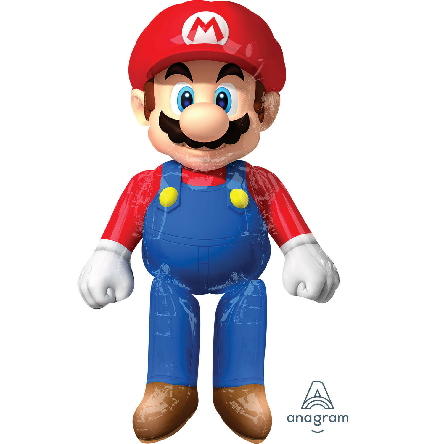 Super Mario Airwalker Supershape Folienballon | Moderne Muster