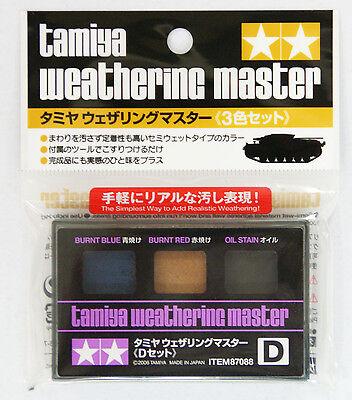 Tamiya 87088 Weathering Master D set (Burnt Blue, Red, Oil Stain)