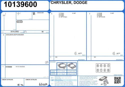 81050400 Genuine AJUSA OEM Replacement Cylinder Head Bolt Set One Side