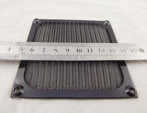 92mm-Aluminum-Dustproof-Filter-Dust-Mesh-Grill-Guard-PC-Case-Cooling-Fan-Black
