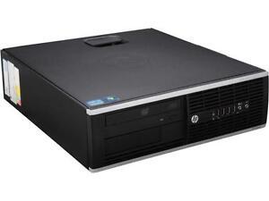 HP Desktop PC 8200 Intel Core i5 8 GB 500 GB HDD Windows 10 Pro MAR
