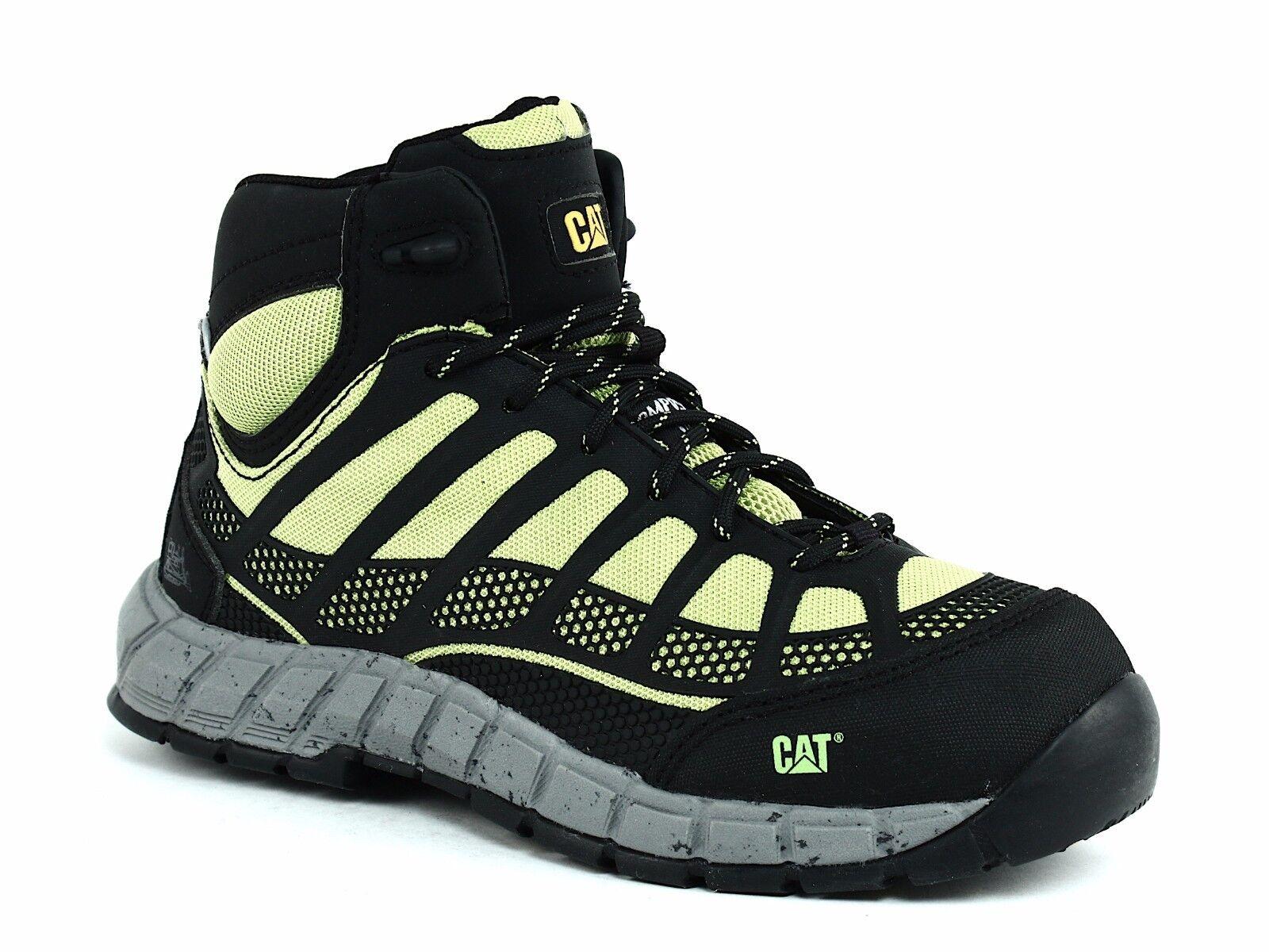 Caterpillar Streamline Mid WP Composite Toe Impermeable Impermeable Impermeable botas para mujer Lima De Trabajo  contador genuino