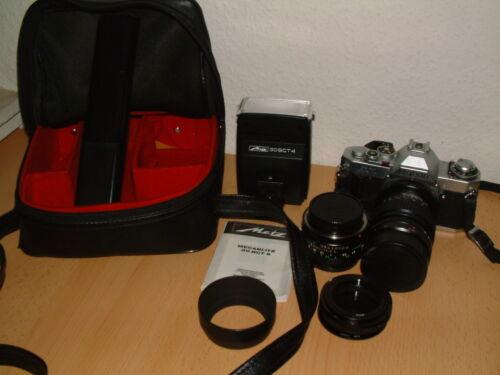 1 von 1 - Canon AV-1 AE-1 35mm Spiegelreflexkamera Komplett Set Objektiv Kit Analog TOP