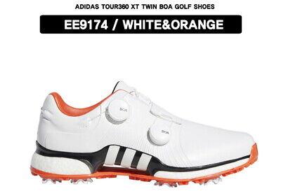 Adidas 2020 Mens Golf Shoes EE9174 Tour 360 XT Twin Dual Boa 8-Spike Wide Orange | eBay
