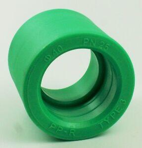 PPR-Aqua-Plus-interplast-FUSIOTHERM-Riduttore-40-auf-32mm-TUBO-ACQUA