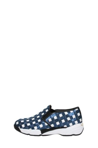 Pinko Sneakers Paillettes Donna Bianco/blu Sequins