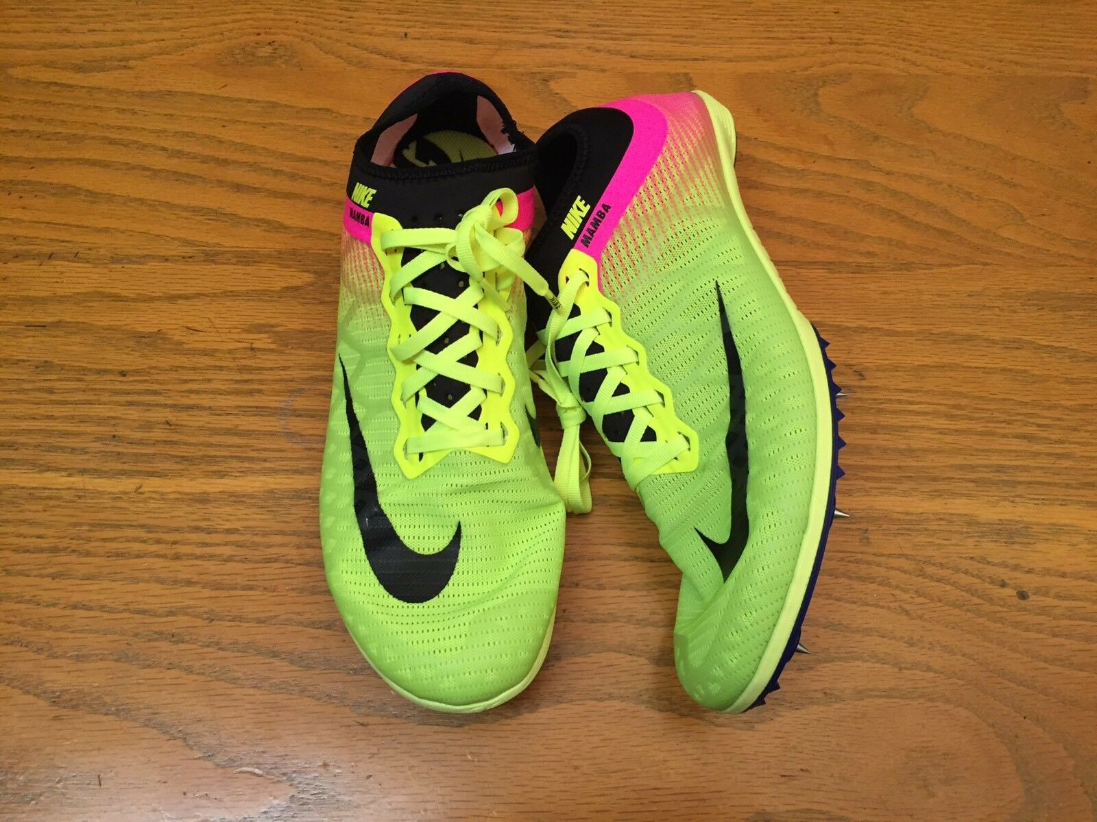 NIKE ZOOM MAMBA 3 OC TRACK AND FEILD MENS SHOES 882018-999 NEW SIZE 11