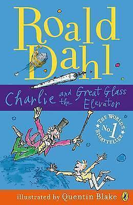 1 of 1 - Charlie and the Great Glass Elevator by Roald Dahl (Paperback, 2007)