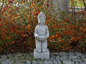 Massive-Pierre-Bouddha-Monk-Gardien-du-temple-en-Pierre-fonte-resistant-au-gel