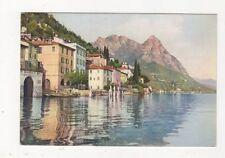 Oria & Pizzo di Cressogno Lago di Lugano Vintage Postcard 523a
