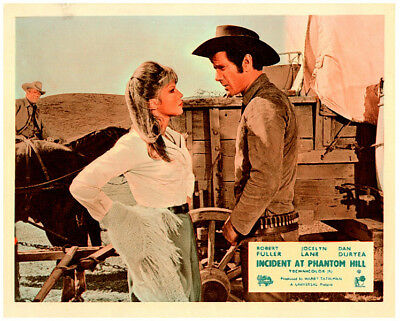 Capable Incident At Phantom Hill Orig Lobby Card Robert Fuller Jocelyn Lane By Wagon Waterproof Entertainment Memorabilia Shock-Resistant And Antimagnetic Other Movie Memorabilia