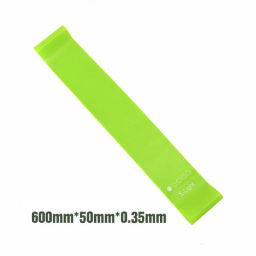 Resistance Bands Loop Exercise Rubber Gym Yoga Elastic Band Fitness Training
