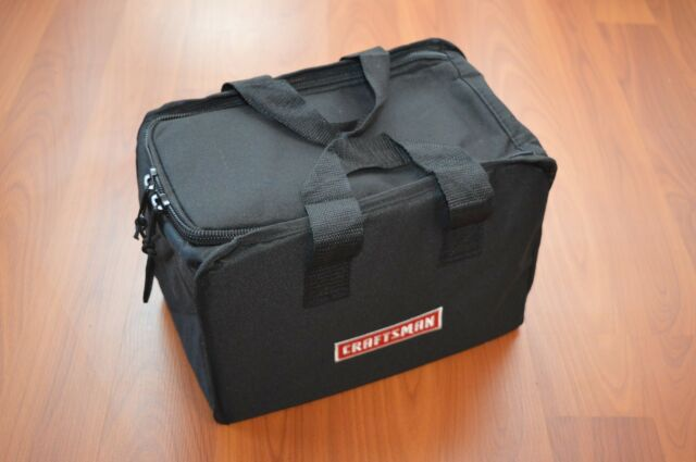 Sears Craftsman Tool Bag Semi Rigid For Drill Impact C3 19 2 Cordless 12x9x7