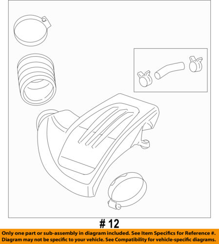 Chevrolet GM OEM 05-06 Cobalt Air Cleaner-to Intake Tube Duct Hose 15838665