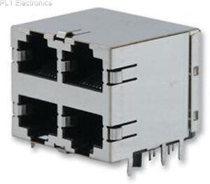 TE-CONNECTIVITY-AMP-5569260-1-Jacke-RJ45-Multi-Port-2X2