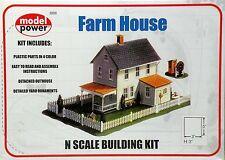 Farm House Model Rail Road Layout Kit N Scale 1:160 by Model Power