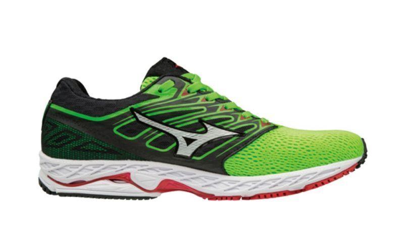 Mizuno Wave Shadow shoes Running men Scarpa green da Corsa Strada J1GC173001